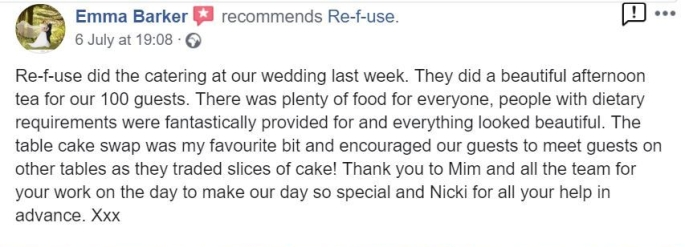 Wedding review